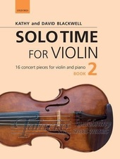 Solo Time for Violin 2 + CD