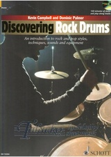 Discovering Rock Drums + CD