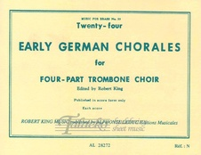 24 Early German Chorales