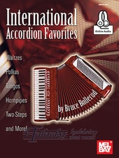 International Accordion Favorites (Book/Online Audio)
