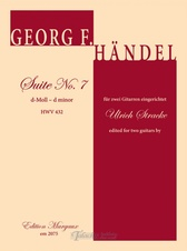 Suite No. 7 d minor HWV 432