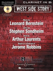 West Side Story Play-Along + CD (clarinet)