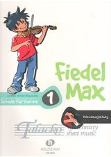 Fiedel-Max für Violine - Schule, Band 1 (Piano accompaniment for the method)