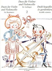 Duets for Violin and Violoncello for Beginners 2.