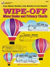 Bastien Piano Basics: Wipe-off Minor Scales & Primary Chords