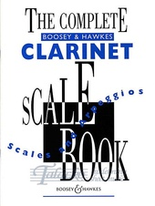 Complete Boosey & Hawkes Clarinet Scale Book