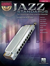 Harmonica Play-Along Volume 14: Jazz Standards + CD