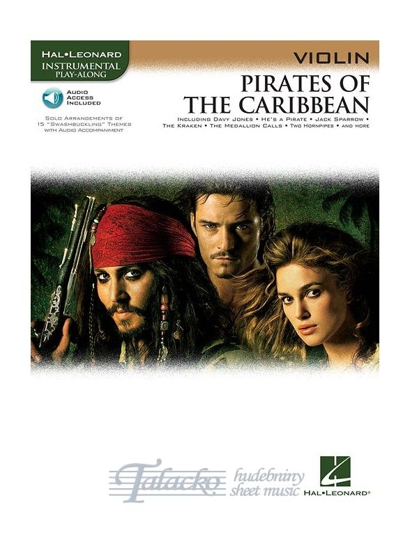 Pirates Of The Caribbean (Violin) (Book/Online Audio)