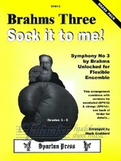 Brahms Three, Sock it to me! (brass pack)