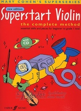 Superstart Violin Complete Method + CD