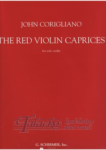 Red Violin Caprices For Solo Violin