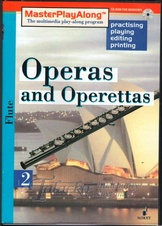 Operas and Operettas 2 for Flute, CD-ROM