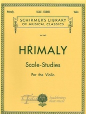Scale Studies For Solo Violin (Schirmer Edition)