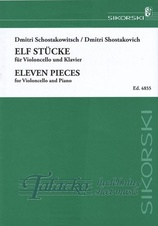 11 Pieces for violoncello and piano