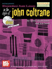 Essential Jazz Lines in the Style of John Coltrane - Guitar + CD