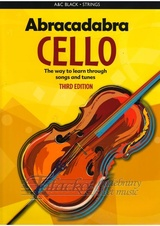 Abracadabra Cello - Third Edition