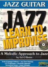 Jazz Guitar: Learn To Improvise + CD