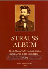 Strauss album for piano or accordeon