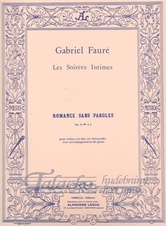 Romance sans paroles op. 17, no. 3