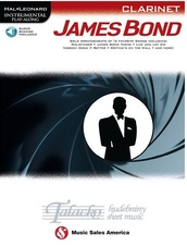 Instrumental Play-Along: James Bond - Clarinet (Book/Online Audio)