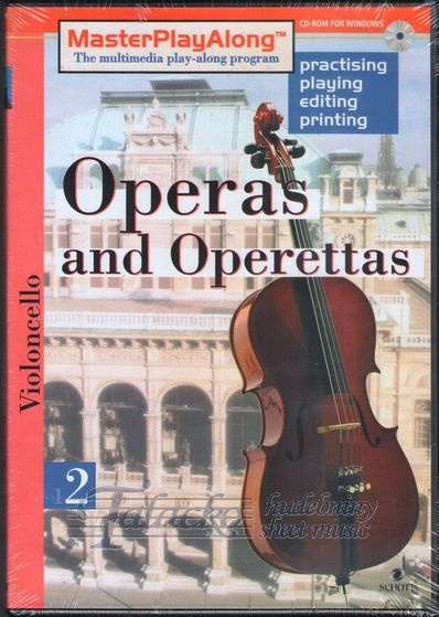 Operas and Operettas 2 for Violoncello, CD-ROM