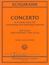Concerto in A minor op. 129 for Cello (and Optional 2nd Cello) Commentary and Preparatory Exercises