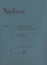 Canto serioso for Horn and Piano
