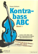 Kontrabass ABC band 1 + CD