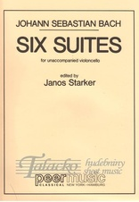 Six Suites for unaccompanied violoncello