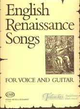 English Renaissance Songs for Voice and Guitar