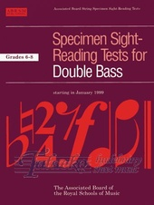 Specimen Sight-Reading Tests for Double Bass Gr. 6-8