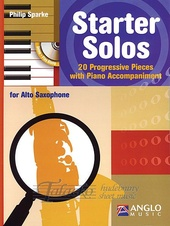 Starter Solos for Alto Saxophone + CD