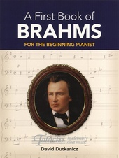 First Book Of Brahms: For The Beginning Pianist With Downloadable MP3s