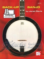 Back-Up Banjo (Book/Online Audio)