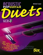 Acoustic Pop Guitar Duets + CD