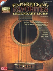 Fingerpicking Favorites: Legendary Licks + CD