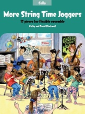 More String Time Joggers: Cello Book