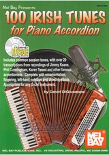 100 Irish Tunes for Piano Accordion + CD