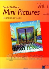 Mini Pictures Vol.1 + CD (soprano recorder)