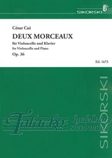 2 Morceaux for violoncello and piano op. 36