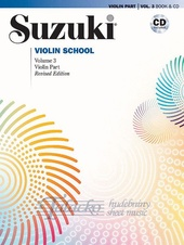 Suzuki Violin School Volume 3 (Violin part 3) + CD