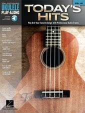 Ukulele Play-Along Volume 40: Today's Hits (Book/Online Audio)