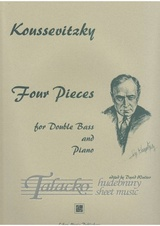 Four Pieces for Double Bass and Piano op. 1