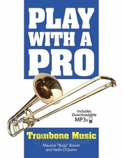 Play With A Pro: Trombone Music (Book/Online Audio)