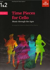 Time Pieces for Cello, Volume 1