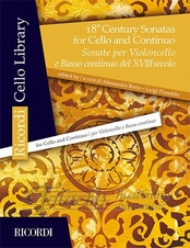 18th Century Sonatas for Cello and Continuo