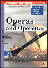 Operas and Operettas 2 for Clarinet, CD-ROM