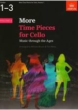 More Time Pieces for Cello, Volume 1