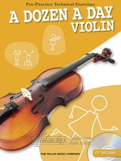 Dozen A Day - Violin + CD