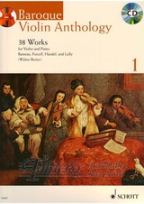 Baroque Violin Anthology 1 + CD